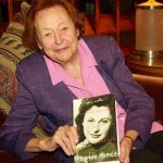 Nancy wake with book